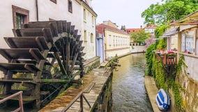 Rio do diabo em Praga, República Checa foto de stock royalty free