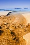 Rio do ouro Imagens de Stock