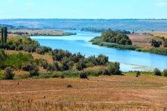 Rio do sul do erro do verão, Ucrânia Foto de Stock Royalty Free