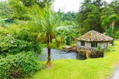 Rio do vale de Boquete Escondido a outra vista Imagens de Stock Royalty Free