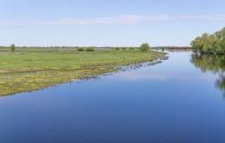 Rio do vale na reserva Fotos de Stock