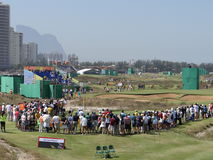 Rio 2016 dos Olympics - golfe Imagens de Stock Royalty Free