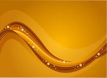 Rio dourado Fotografia de Stock
