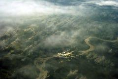 Rio dourado Imagem de Stock Royalty Free