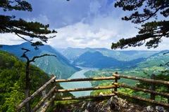 Rio Drina Imagens de Stock