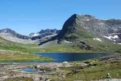 Rio e lago em Trollstigen, No. Imagens de Stock Royalty Free