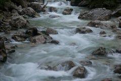 Rio e rochas Foto de Stock Royalty Free