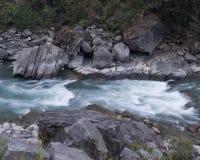 Rio e rochas Foto de Stock