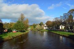 Rio Eden In Appleby-em-Westmorland foto de stock