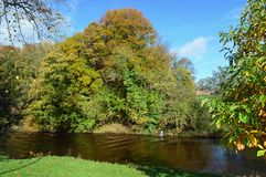 Rio Eden In Appleby-em-Westmorland fotos de stock royalty free
