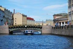 Rio em St. - Petersburg.Fontanka Imagens de Stock