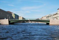 Rio em St. - Petersburg.Fontanka Fotos de Stock