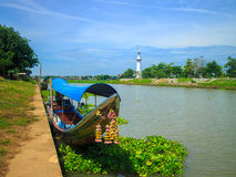 Rio em Tailândia Fotos de Stock