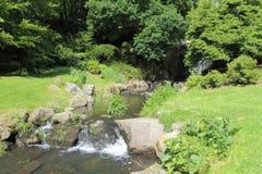 Rio em um parque Fotos de Stock Royalty Free