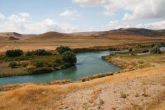 Rio entre Ancara e Kaysery, Turquia Imagens de Stock Royalty Free