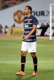 Rio Ferdinand of Man Utd. Royalty Free Stock Image