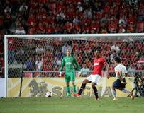 Rio Ferdinand of Man Utd. Royalty Free Stock Photos