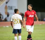 Rio Ferdinand of Man Utd. Stock Image