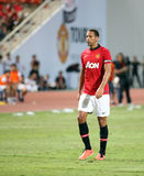 Rio Ferdinand of Man Utd. Royalty Free Stock Images
