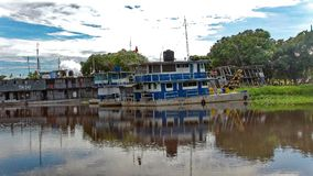 Rio in Fleuve. Bolivia, south America. Royalty Free Stock Photography
