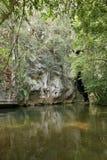 Rio Frio Cave à Belize photo libre de droits