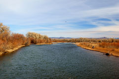 Rio Gramde River NM Stock Image