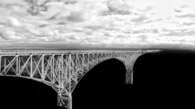 Rio Grand Gorge Bridge Taos, nanômetro fotografia de stock royalty free
