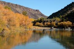 Rio Grande Del Norte Krajowy zabytek, Nowy - Mexico Zdjęcia Stock