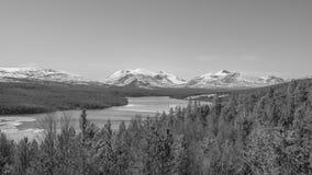 Rio grande em Noruega fotografia de stock royalty free