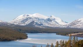 Rio grande em Noruega foto de stock royalty free