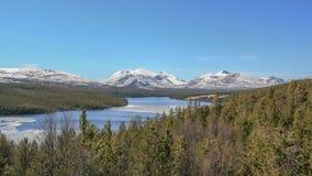 Rio grande em Noruega imagem de stock