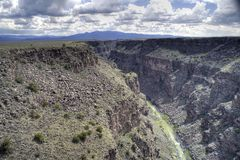 Rio Grande Gorge Royalty Free Stock Images
