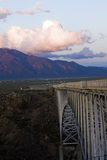 Rio Grande Gorge Bridge royalty free stock photo