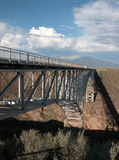 Rio Grande Gorge Bridge Royalty Free Stock Photography