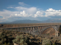 Rio Grande Gorge Bridge Stock Image