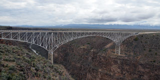 Rio Grande Gorge Bridge Stock Image