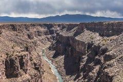 Rio Grande Gorge, New Mexico Royalty Free Stock Photo