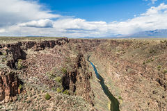 Rio Grande Gorge, New Mexico Royalty Free Stock Photography