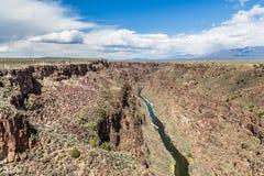 Rio Grande Gorge, New Mexico Royalty Free Stock Photography
