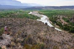 Rio Grande, le Texas Image stock