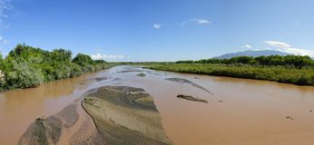 Rio Grande Panorama Stock Photo