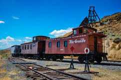 Rio Grande Railroad - Gouden Heuvel - Kei, Co Royalty-vrije Stock Fotografie