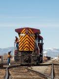 Rio Grande Railroad Royalty Free Stock Photography