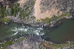 Rio Grande ravine Stock Image