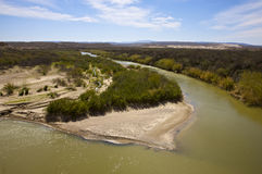 Rio Grande River Royalty Free Stock Photography