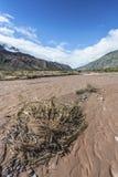 Rio Grande River i Jujuy, Argentina Royaltyfria Foton