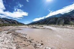 Rio Grande river in Jujuy, Argentina. Stock Image