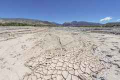 Rio Grande river in Jujuy, Argentina. Royalty Free Stock Photography