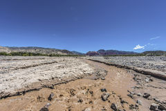 Rio Grande-rivier in Jujuy, Argentinië Royalty-vrije Stock Fotografie