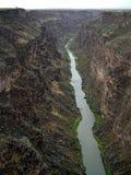 Rio Grande rivier-Nieuw Mexico royalty-vrije stock foto's